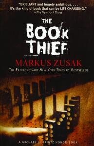 """""""The Book Thief"""" -- Markus Zusak"""