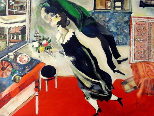 """The Birthday"" (1915) Marc Chagall"
