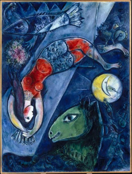 """Blue Circus"" (1950–2)"