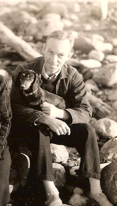 E. B. White, endlessly quotable dog-lover.