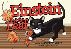Einstein Leaf Book Cover Image