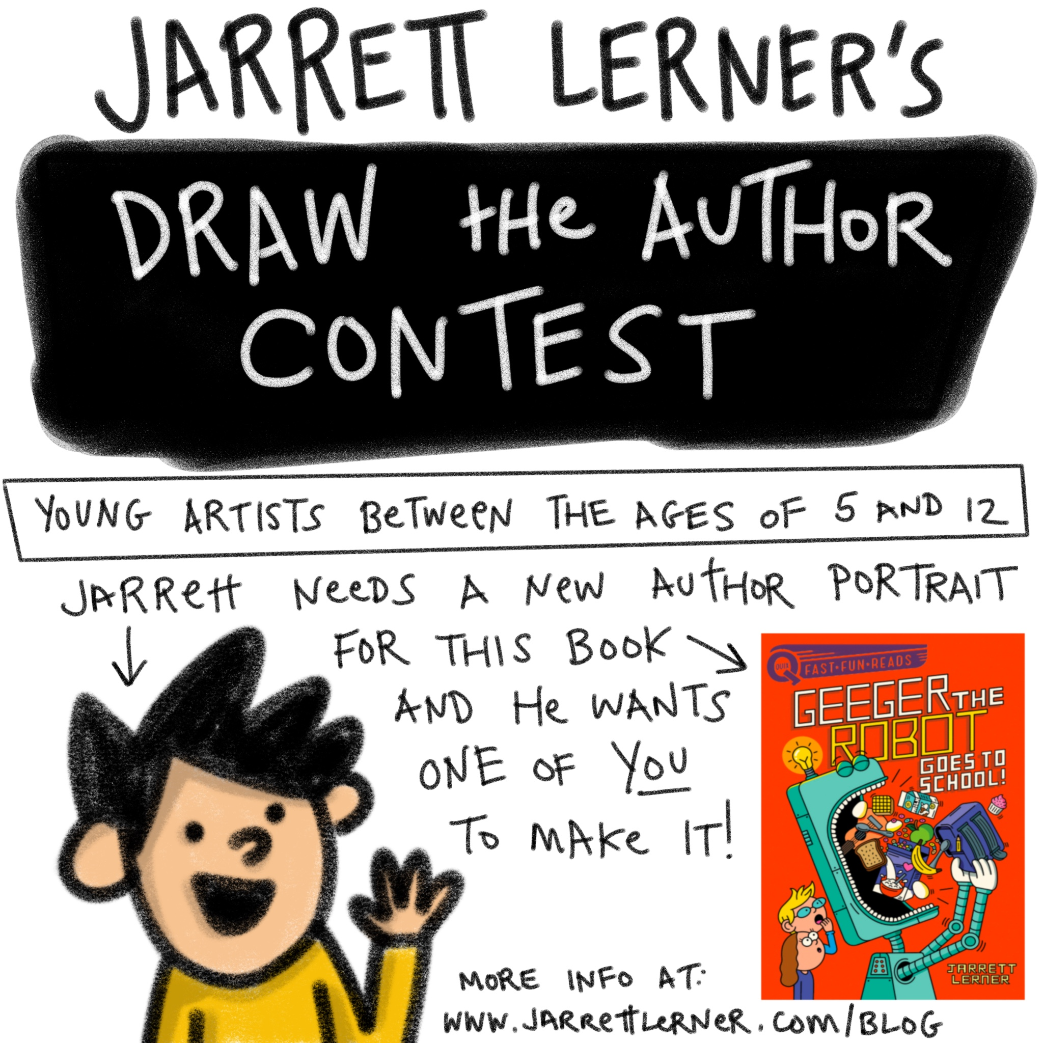Draw the Author Contest Announcement